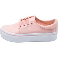 Cipők Női Divat edzőcipők DC Shoes Trase Platform Tx Rózsaszín