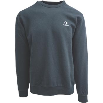 Ruhák Férfi Melegítő kabátok Converse Emb Crew Ft Fekete