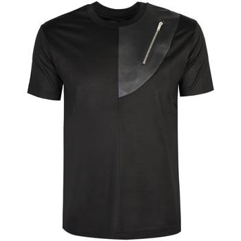 Ruhák Férfi Rövid ujjú pólók Les Hommes  Fekete