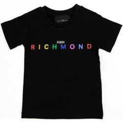 Ruhák Lány Rövid ujjú pólók Richmond Kids RGP21123TS Black
