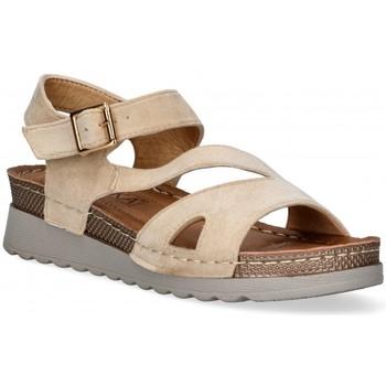 Cipők Női Szandálok / Saruk Etika 52655 Barna