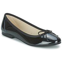 Cipők Női Balerina cipők / babák Betty London VROLA Fekete
