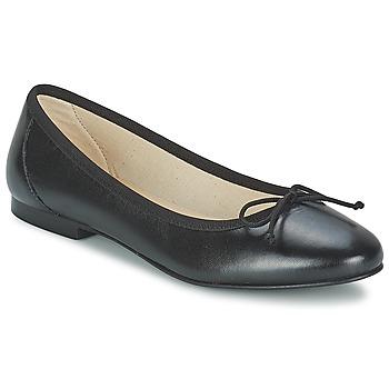 Shoes Női Balerina cipők / babák Betty London VROLA Fekete