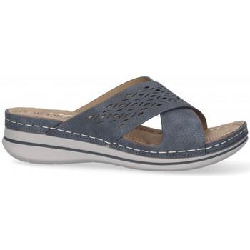 Cipők Női Papucsok Etika 52659 Kék