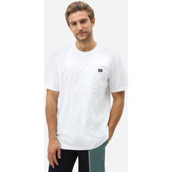 Ruhák Férfi Rövid ujjú pólók Dickies Porterdale tshirt mens Fehér