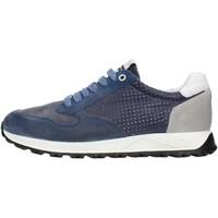 Cipők Férfi Rövid szárú edzőcipők Exton 751 Blue