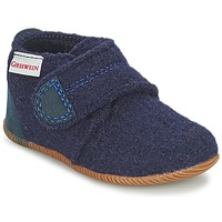 Cipők Fiú Mamuszok Giesswein OBERSTAUFEN Kék