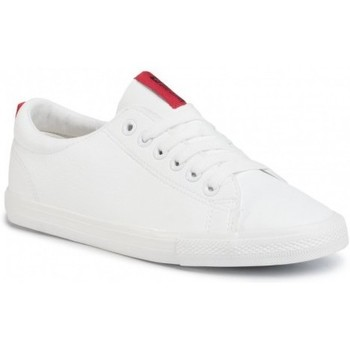 Cipők Női Rövid szárú edzőcipők Big Star DD274685101 Fehér