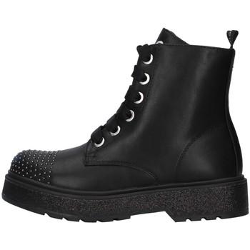 Cipők Lány Csizmák Café Noir C-800 BLACK