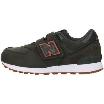Cipők Fiú Rövid szárú edzőcipők New Balance YV574PGO GREEN