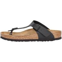 Cipők Lábujjközös papucsok Birkenstock 043691 BLACK