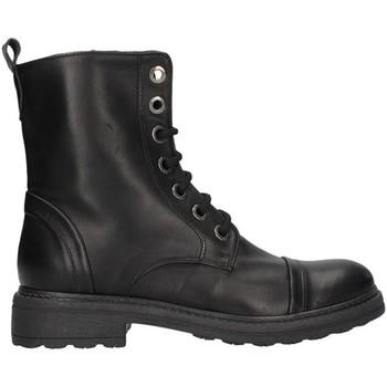 Cipők Női Városi csizmák Unica 10190 BLACK