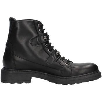 Cipők Női Bokacsizmák Unica 10191 BLACK