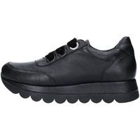 Cipők Női Rövid szárú edzőcipők Café Noir DB144 BLACK