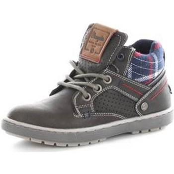 Cipők Gyerek Magas szárú edzőcipők Wrangler WJ16238 GRAPHITE