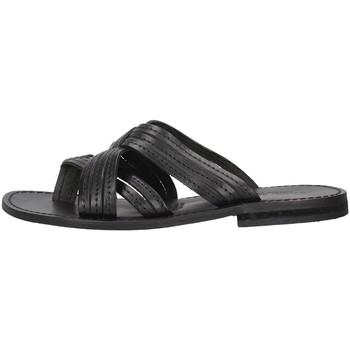 Cipők Női Papucsok Antichi Romani 1456 BLACK