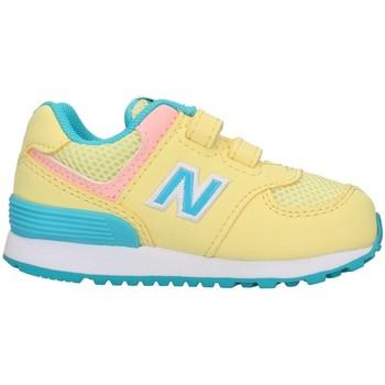 Cipők Lány Rövid szárú edzőcipők New Balance IV574BYS YELLOW