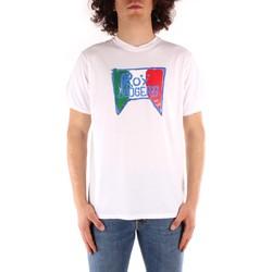 Ruhák Férfi Rövid ujjú pólók Roy Rogers P21RRU513C7480013 WHITE