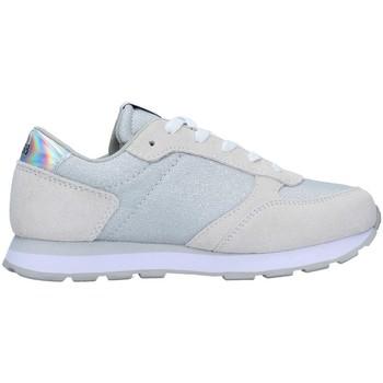 Cipők Lány Rövid szárú edzőcipők Sun68 Z31404 SILVER