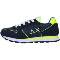Cipők Fiú Rövid szárú edzőcipők Sun68 Z31302 NAVY BLUE