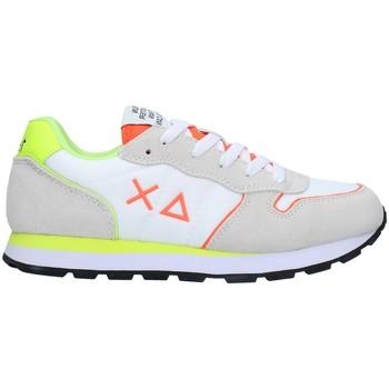 Cipők Fiú Rövid szárú edzőcipők Sun68 Z31302 WHITE