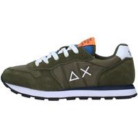 Cipők Fiú Rövid szárú edzőcipők Sun68 Z31301 GREEN