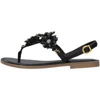 Cipők Női Szandálok / Saruk Café Noir C1GF1820 BLACK