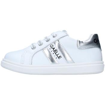 Cipők Lány Rövid szárú edzőcipők GaËlle Paris G-741 WHITE