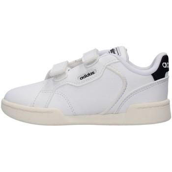 Táskák Fiú Rövid szárú edzőcipők adidas Originals FY9284 WHITE
