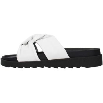 Cipők Női Papucsok Apepazza S1SOFTWLK01/LEA WHITE
