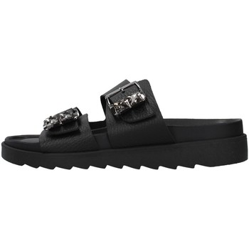 Cipők Női Papucsok Apepazza S1SOFTWLK03/LEA BLACK