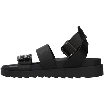 Cipők Női Szandálok / Saruk Apepazza S1SOFTWLK05/LEA BLACK