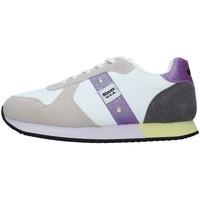 Cipők Lány Rövid szárú edzőcipők Blauer S1LILLI02/LES WHITE