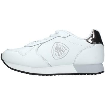 Cipők Lány Rövid szárú edzőcipők Blauer S1LILLI01/LEA WHITE