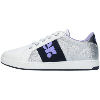 Cipők Lány Rövid szárú edzőcipők Blauer S1DORY04/GLI SILVER