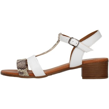 Cipők Női Szandálok / Saruk Melluso 018826A WHITE