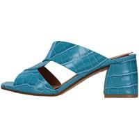 Cipők Női Papucsok Melluso N705 LIGHT BLUE