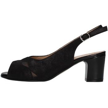 Cipők Női Szandálok / Saruk Melluso S630 BLACK