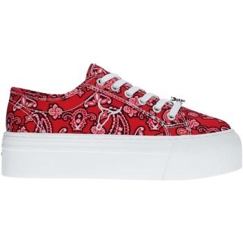 Cipők Női Rövid szárú edzőcipők Windsor Smith RUBY RED