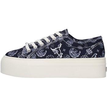 Cipők Női Rövid szárú edzőcipők Windsor Smith RUBY NAVY BLUE