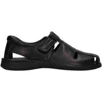Cipők Férfi Szandálok / Saruk Enval 7222200 BLACK