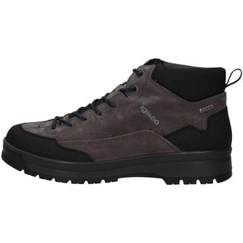 Cipők Férfi Magas szárú edzőcipők IgI&CO 6129400 GREY