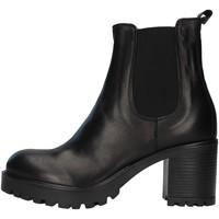 Cipők Női Bokacsizmák Unica 10264 BLACK