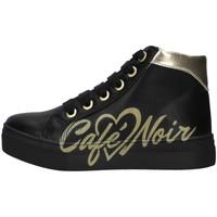 Cipők Lány Magas szárú edzőcipők Café Noir C-841 BLACK