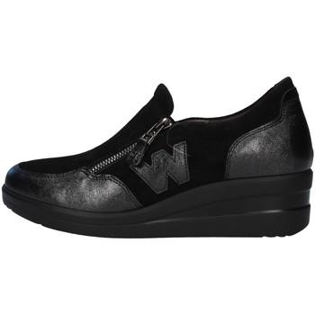 Cipők Női Rövid szárú edzőcipők Melluso R25856 BLACK