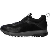 Cipők Férfi Rövid szárú edzőcipők IgI&CO 6138900 BLACK