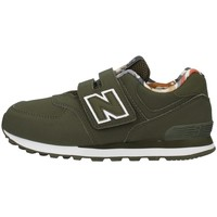 Cipők Fiú Rövid szárú edzőcipők New Balance YV574GYL GREEN