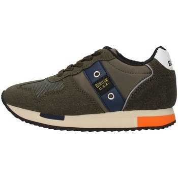 Cipők Fiú Rövid szárú edzőcipők Blauer F0DASH02/NYL GREEN