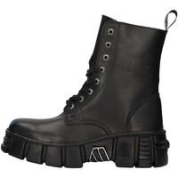 Cipők Csizmák New Rock WALL026NBASA BLACK