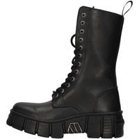 Cipők Csizmák New Rock WALL027NBASA BLACK